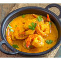 "Poêlée de Gambas "" Curry //..."